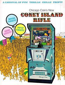 Coney Island Rifle Arcade Game Vintage Advertising Sales Flyer 1970s 021219AME