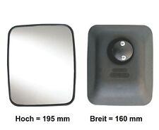 Außenspiegel Wohnmobil Zusatzspiegel Anbau LKW 195x160 mm ø14-23mm R300°