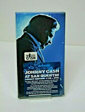 Johnny Cash at San Quentin Legacy Edition - 2CD/DVD  NEW and sealed