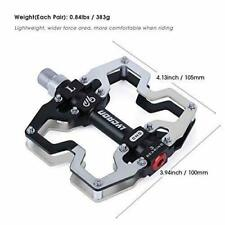 MOUNTAIN Bike Cycling Pedal CNC Machined Aluminum Alloy Durable Non-slip Bicycle