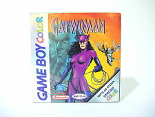CATWOMAN complete in box with manual for Nintendo Game Boy Color