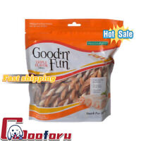 🐶Good 'n' Fun🐶Triple Flavor Twists Rawhide Dog Chews 12,22,35 Count(🇺🇸stock)