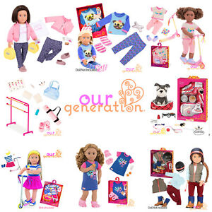 NEW OUR GENERATION Outfit & Accessory Sets UK AUTHORISED GENUINE 18inch Dolls