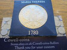 Austria Thaler 1780 SF Maria Theresa Silver Restrike UNC STUNNING GRADE