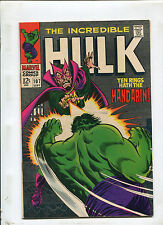 INCREDIBLE HULK #107 (9.0) MANDARIN APPEARANCE! 1968