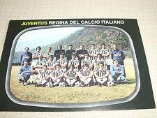 CARTOLINA CALCIO SQUADRA JUVENTUS F.C. TORINO 1975 - REGINA CALCIO ITALIANO