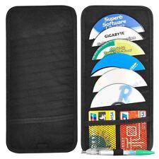 Car SUV Accessory Sun Visor 12 Slot Disc CD DVD Folder Bag Organizer Holder