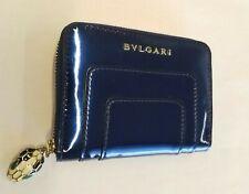 Bvlgari Serpenti Forever Wallet in Metallic Royal Sapphire Reference: 282788
