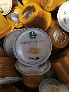 165 Starbucks Verismo Veranda Blend Capsule Coffee **Best By 3/2016