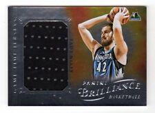 Kevin Love NBA 2012-13 Panini brillantez camisetas de tiempo de juego (Timberwolves)