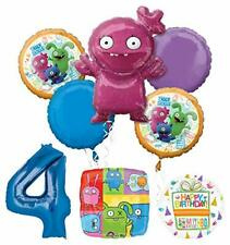 Mayflower Products Ugly Dolls Party Supplies 4th Birthday Balloon Bouquet Decor