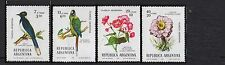 (1976) Sc.B65-68. Birds & Flowers. 4-stamp set. MNH. Excellent condition.