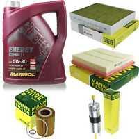 Inspektionspaket 5L MANNOL Energy CombiLL 5W30 Motoröl + MANN Filterset 10775974
