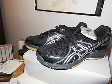 Men's ASICS GEL 1130V Sneakers Color: Black/Silver,Size: 7.5 - NEW With Box