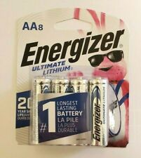 Energizer Ultimate Lithium AA Batteries 8 Pack Exp. 2038-2039 (L91SBP-8)