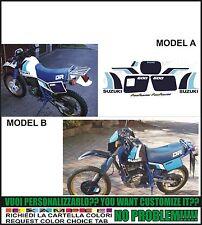kit adesivi stickers compatibili dr 600 1989