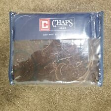 Chaps Show and Circuit Queen Sheet Set New