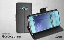 More Wallet Flip Card Slot Leather Case Cover For Samsung Galaxy J1 J100Y + SG