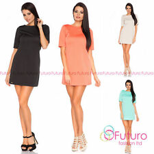 Short Sleeve Textured Dresses for Women