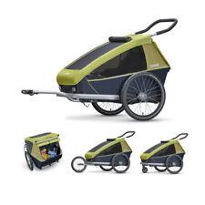 Remorque Vélo pour Enfants Enfant 2 Lieux Vert 3092097318 Croozer Transport