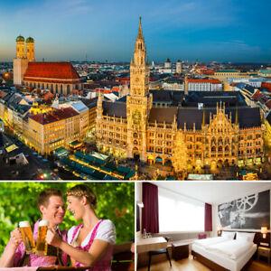 3-4 Tage Städtereise München Vienna House + Abendmenü Städtereise 2 Personen