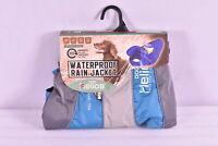 Dog Helios Outdoor Series Waterproof Rain Jacket Size Large, Blue