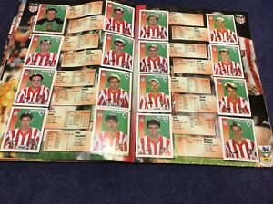 Merlin's Premier League 97 sticker Team Pages Sunderland
