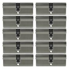 2 -10x Profilzylinder 100 mm 50/50 Not + Gefahr Tür Zylinder gleichschließend