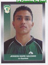112 JEISSON GALEANO CD.LA EQUIDAD STICKER PANINI COLOMBIA PRIMERA A 2008