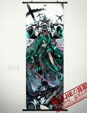 "New Anime Vocaloid Hatsune Miku Cosplay Home Decor 18""x50"" Poster Wall Scroll"