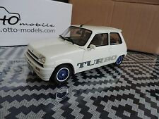 R5 ALPINE Turbo Renault 5 Gordini Turbo Blanche 1/18 OTTO OTTOMOBILE OTTOMODELS
