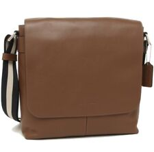 Coach * Men's Bag F28576 NISAD Charles Small Messenger Brown Leather COD PayPal