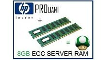 8GB (2x4GB) de RAM upgrade de memoria ECC para el servidor HP Proliant ML150 G5