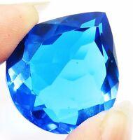 GGL Certified Wonderful Pear Shape 50.05 Ct Blue Topaz Gems eBay