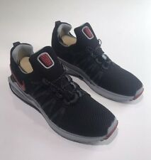New NIKE Shox Gravity Sneaker Mens MSRP: $150 Black/ Varsity Red Size 9.5