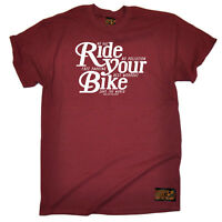 Cycling T-Shirt Funny Novelty Mens tee TShirt - Ride Your Bike