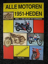 Alk Alle Motoren 1951 - Heden Deel 1 van Adler tot Kawasaki R. Vos (Nederlands)