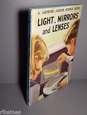 R&L Ladybird Book: Light, Mirrors and Lenses, Series 621, Matt, Circa 1964 2'6