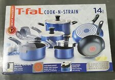 Tfal 14 Piece Non Stick Cookware Cook and Strain Set