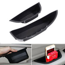 2x Front Door Armrest Storage Box Holder Container Black For C Class W205 14-15