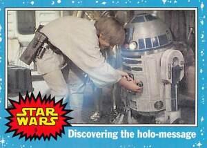 2004 Topps Star Wars Heritage #5 Discovering The Holo Message  >Luke Skywalker🌟