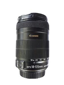 Canon EF-S 18-135mm f/3.5-5.6 IS Lens w/hood & Tiffen Filter