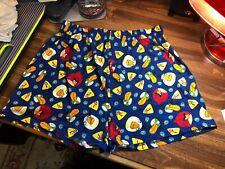 RARE ~ 2011 Angry Birds Boxer Brief Underwear ~ 100% Cotton ~ Men Sz M
