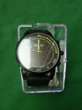 SPARCO WRISTWATCH  BLACK AND YELLOW DIAL
