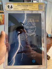 Batman The Dark Knight Returns 1 CGC 9.6 First Print/White Pages Signed & Sketch