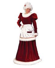 Rental Quality Classic Mrs. Santa Claus Dress Christmas Velvet Costume M/L 10-14