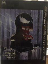 Venom from Spider-Man 3 Masked Scaled Replica (2007) Rare MIB! HTF!!