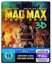 Mad Max Fury Road Blu-Ray 3D Steelbook Limited Edition NEU