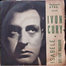 "IVON CURY 1965 ""Bate Papo Moderninho"" Bossa Nova Samba Jazz PS 7"" BRAZIL 45 HEAR"