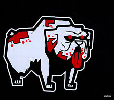 *BLOODY* Zombie Pet Dog Family Car Decal Sticker  +  *FREE DECAL* BULLDOG